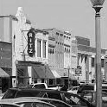 Photo of downtown West Point Mississippi featuring The Ritz, Anthony's Good Food, near Old Waverly Golf Club