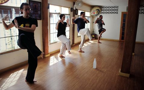 Tai Chi Level Instructor Training Chiang Mai Thailand. Body and Mind Healing Tai Chi Teacher course