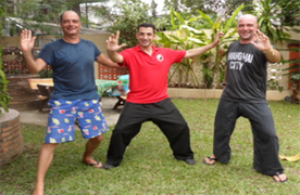 Tai Chi Chiang Mai.. Tai Chi training at Body & Mind Healing Chiang Mai Thailand
