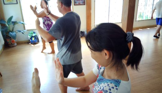 Tai Chi Training in Chiang Mai