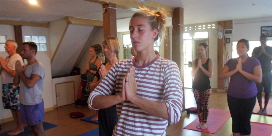 Yoga and Meditation in Chiang Mai Thailand. Yoga drop in classes.