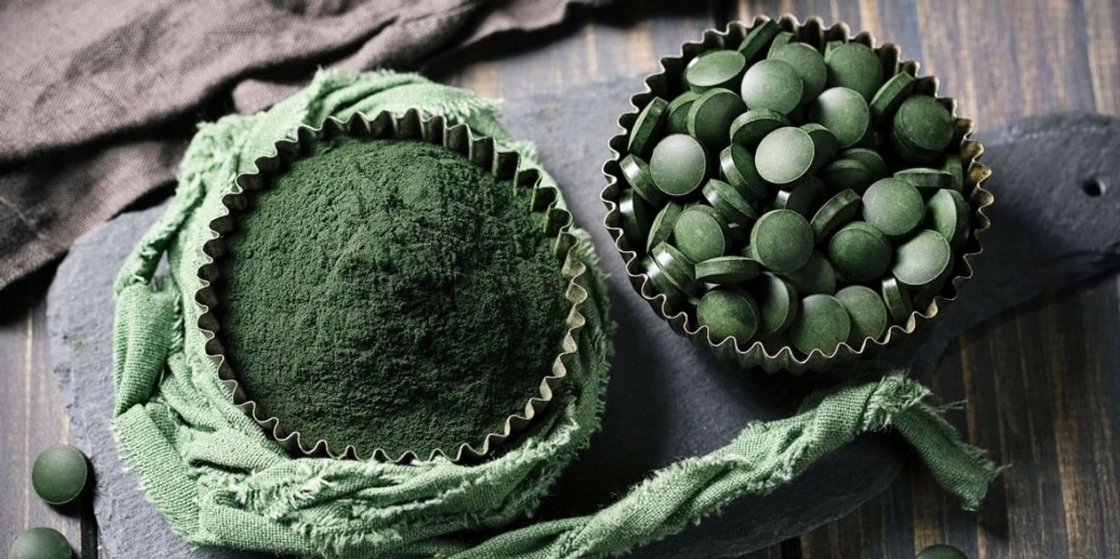 Body & Mind Healing Organic Spirulina in Chiang Mai Thailand. Organic Spirulina Tablets and powder.