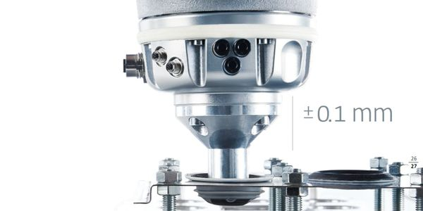 KUKA LBR iiwa Cobot repeatability and precision of +-0.1mm.