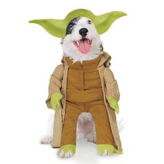 Star Wars Yoda costume for dogs or other pets.
