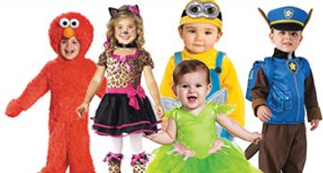 Toddler and infant costumes