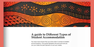 A Guide to different types of student accommodation