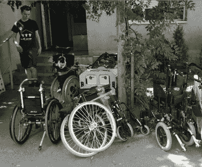 Wheelchairs provided to members of the community