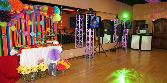 Party Birthday Rental Salon Para Fiestas Dance Floor