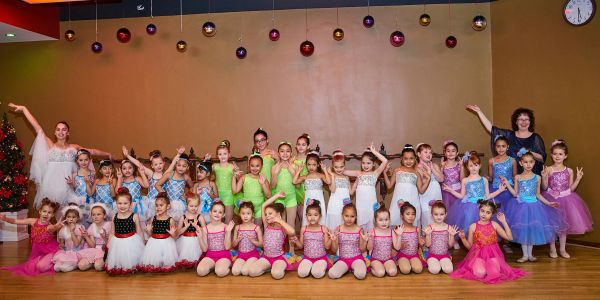 Nutcracker for ballet and gymnastics students at ABC Dance Academy