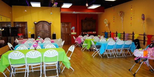 rent the studio, dance studio for rent, dance party, baby shower, kids party, graduation party