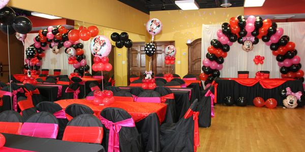 Dance studio rental for birthday party
