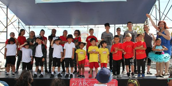 ABC Dance Academy students at Taste of Polonia Festival