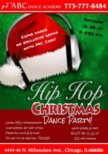 Holiday hip-hop dance party