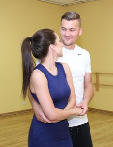 Private dance lessons for first wedding dance are offered for couples at ABC Dance Academy