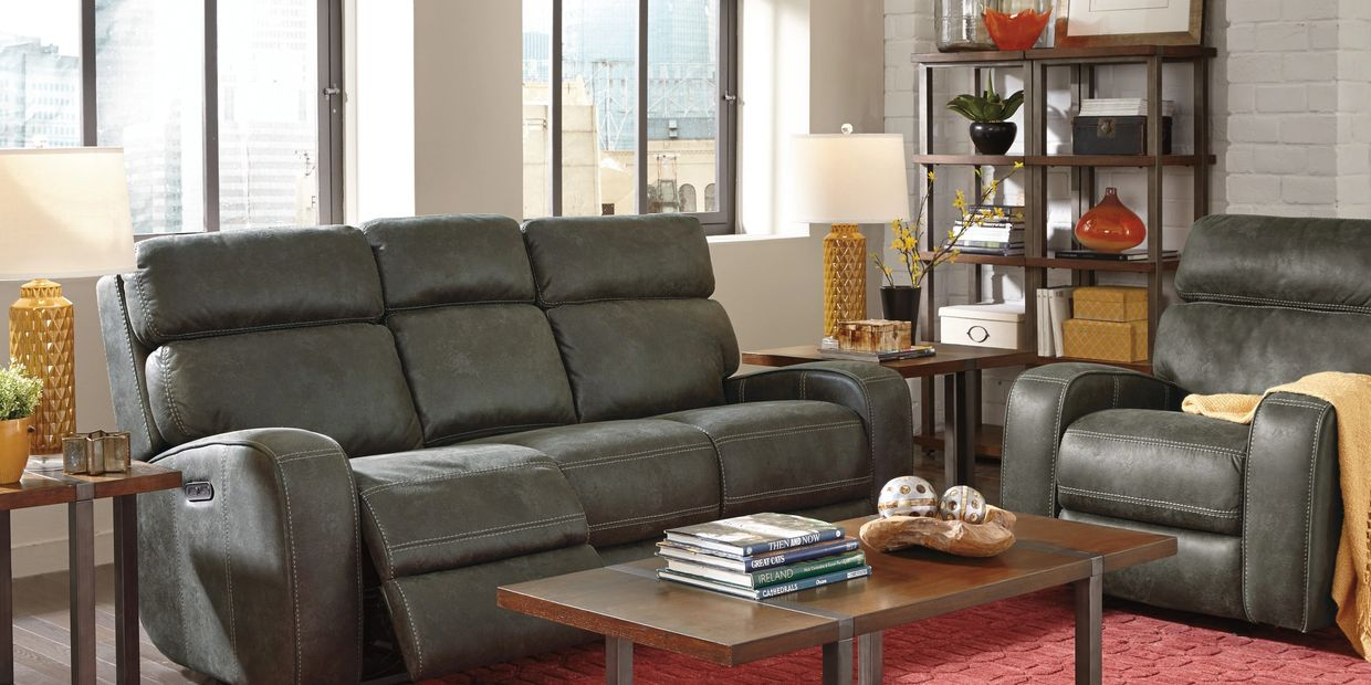 FLEX STEEL THOMPKINS 1326 sofa & loveseat