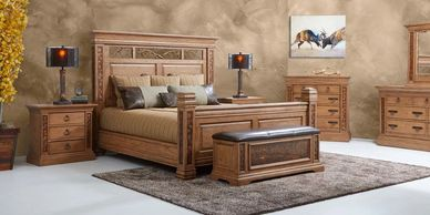 bedroom furniture, dresser, nightstands, mirrors, headboard, footboards, chests, armoires, storage