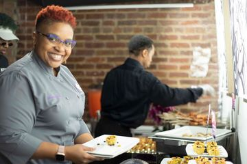Chef Queen Precious-Jewel attention to detail for every Indulgent Experience