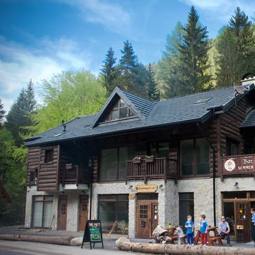 The Dragon's Lair Ski Chalet in Jasna, Slovakia for quality accommodation.