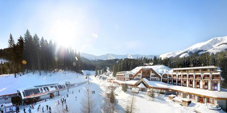 Hotel Grand Jasna at Beila Put offers ski in/ski out accommodation