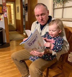 Dr. Dan and his granddaughter Amelia also enjoying some special Grampa time!
