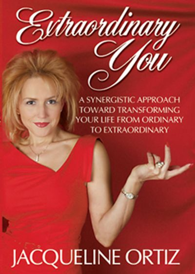 Extraordinary You Book, Author Jacqueline Ortiz Self Love Diva Coach