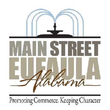 The Main Street Eufaula Logo, which was designed by Peter Pauley Photography.