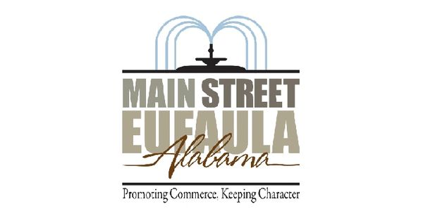 The Main Street Eufaula logo, which was designed by Peter Pauley.