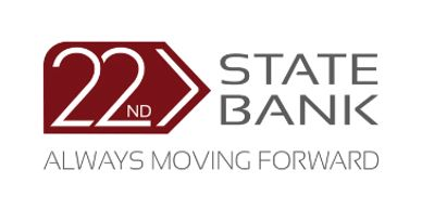An image of 22nd State Bank logo.