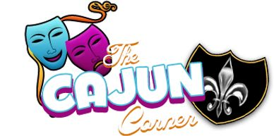 The Cajun Corner logo, a restaurant located in Eufaula, Alabama.