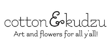 Logo image for Cotton & Kudzu, located in Historic Eufaula, Alabama.