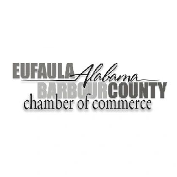 Eufaula Barbour County Chamber of Commerce logo.
