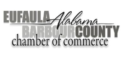 This is the Eufaula Barbour County Chamber of Commerce logo, designed by Peter Pauley.
