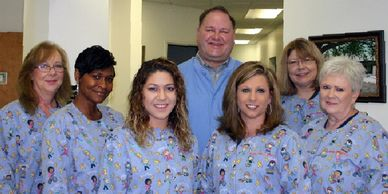 Photograph of the staff at Eufaula Dental in Eufaula, Alabama.