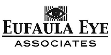 Eufaula Eye Associates logo, they are located in Eufaula, Alabama.