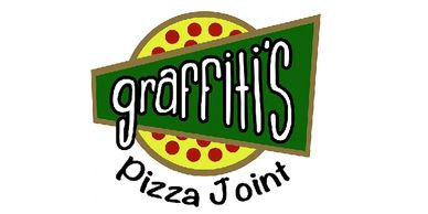 The logo for Graffiti's Pizza Joint in Eufaula, Alabama.