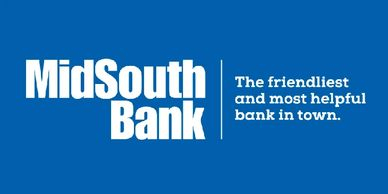 The logo for MidSouth Bank.