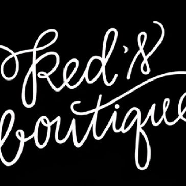 Logo for Red's Boutique in Eufaula, Alabama.