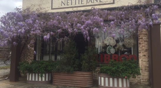 Nettie Jane Designs is located inside Collected Treasures in Downtown Arlington, Texas.
