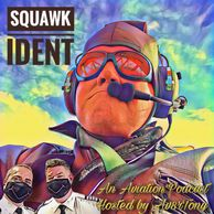 Squawk ident Episode 48 - Airport Bums & Bandeirantes - cover art by Av8rTony