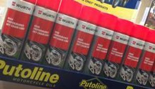 motorcycle mot, motorcycle repairs, Putoline Products, Rock Oil Products