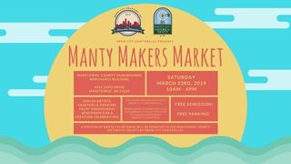 First Annual Manty Makers Market presented by Brew City Crafters LLC.
