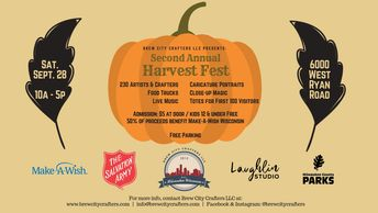 The Second Annual Harvest Fest Art & Craft Fair presented by Brew City Crafters