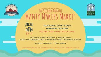 Manty Makers Market hosted by Brew City Crafters