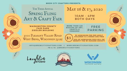 The Third Annual Spring Fling Art & Craft Fair presented by Brew City Crafters