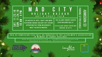 The First Annual Mad City Holiday Bazaar presented by Brew City Crafters