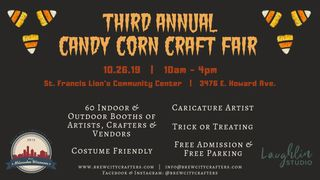 Third Annual Candy Corn Craft Fair presented by Brew City Crafters LLC.