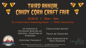 The Third Annual Candy Corn Craft Fair presented by Brew City Crafters