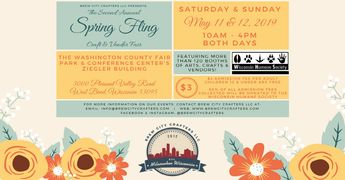 Second Annual Spring Fling Craft and Vendor Fair presented by Brew City Crafters LLC.
