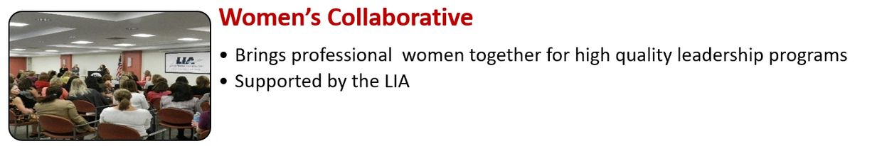 Women's Collaborative Supported by the LIA