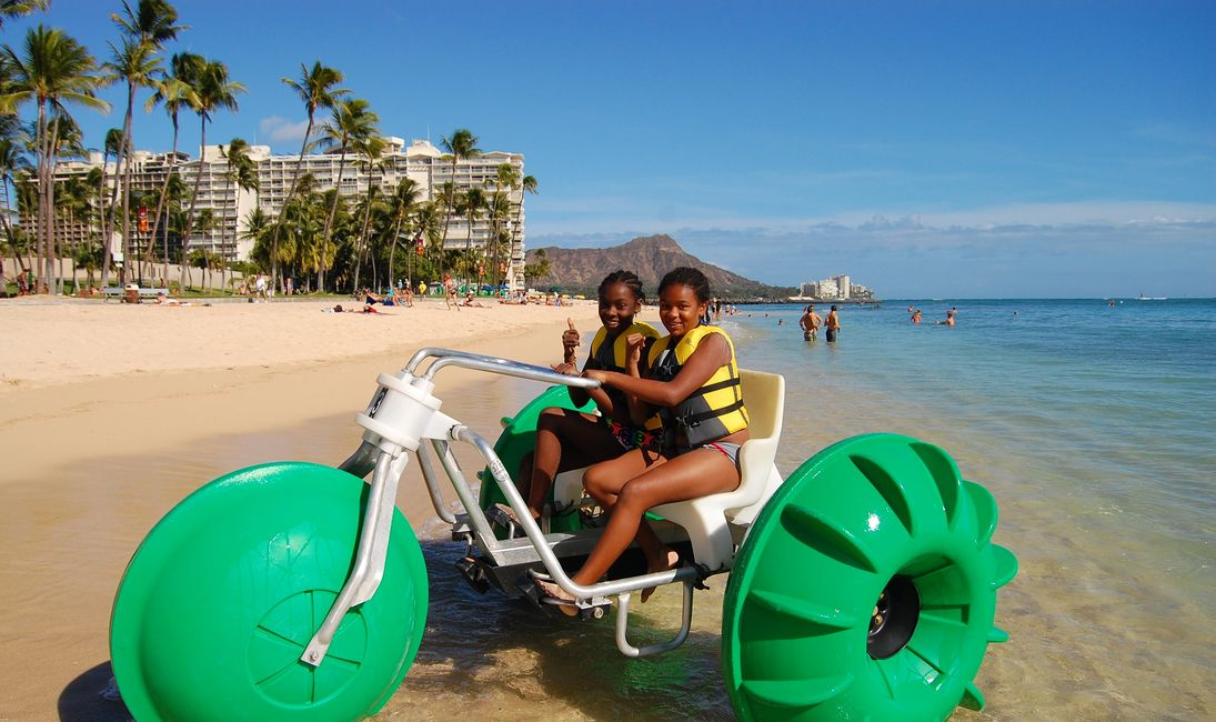 Aqua Cycle+Water+Bikes+Waikiki+Beach+Rentals+Rental+Things+to+do+Hawaii+Honolulu+Oahu